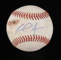 Miguel Amaya Signed Baseball (JSA COA) (See Description) at PristineAuction.com