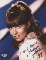 """Barbara Feldon Signed """"Get Smart"""" 8x10 Photo Inscribed """"All the Best!"""" & """"99"""" (Beckett COA) at PristineAuction.com"""
