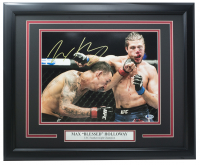 """Max """"Blessed"""" Holloway Signed UFC 11x14 Custom Framed Photo (Beckett COA) at PristineAuction.com"""