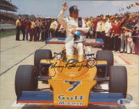 Johnny Rutherford Signed 8x10 Photo (Beckett COA) at PristineAuction.com
