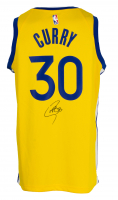 Stephen Curry Signed Warriors Nike Jersey (Beckett COA) at PristineAuction.com