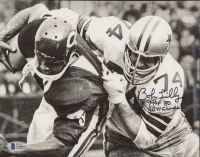 "Bob Lilly Signed Cowboys 8x10 Photo Inscribed ""HOF 1980"" & ""SB VI Champs"" (Beckett COA) at PristineAuction.com"