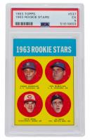 Pedro Gonzalez RC / Ken McMullen RC / Al Weis RC / Pete Rose RC 1963 Topps #537 Rookie Stars (PSA 5) at PristineAuction.com