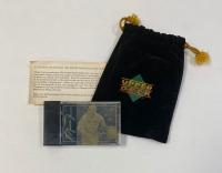 1994 Upper Deck LE Michael Jordan Gold Card With Original Bag & Certificate at PristineAuction.com