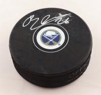 Rasmus Dahlin Signed Sabres Logo Hockey Puck (Fanatics Hologram) (See Description) at PristineAuction.com