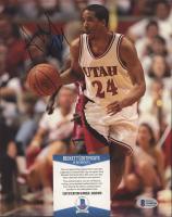 Andre Miller Signed Utah Utes 8x10 Photo (Beckett COA) at PristineAuction.com