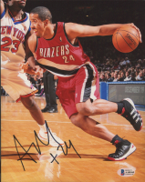 Andre Miller Signed Trail Blazers 8x10 Photo (Beckett COA) at PristineAuction.com