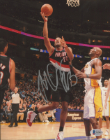 Marcus Camby Signed Trail Blazers 8x10 Photo (Beckett COA) at PristineAuction.com