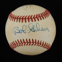 Bob Gibson & Stan Musial Signed ONL Baseball (JSA COA) at PristineAuction.com