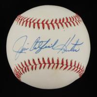 "Jim ""Catfish"" Hunter Signed OAL Baseball (JSA COA) at PristineAuction.com"