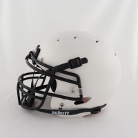 """Mike Singletary Signed Full-Size Authentic On-Field Matte White Helmet Inscribed """"HOF 98"""" (Beckett COA) at PristineAuction.com"""