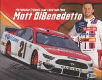 Matt DiBenedetto Signed NASCAR 8x10 Photo (Beckett COA) at PristineAuction.com