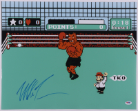 Mike Tyson Signed 'Punch-Out!!' 16x20 Photo (PSA COA) at PristineAuction.com