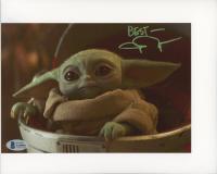 "John Rosengrant Signed ""The Mandalorian"" 8x10 Photo Inscribed ""Best"" (Beckett COA) at PristineAuction.com"
