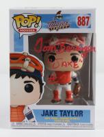 """Tom Berenger Signed """"Major League"""" #887 Jake Taylor Funko Pop! Vinyl Figure Inscribed """"Jake #7"""" (JSA COA) (See Description) at PristineAuction.com"""