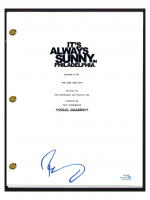 "Rob McElhenney Signed ""It's Always Sunny In Philadelphia"" Pilot Episode Script (AutographCOA COA) at PristineAuction.com"