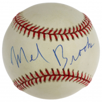 Mel Brooks Signed OAL Baseball (JSA LOA) at PristineAuction.com