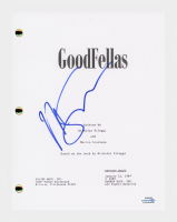 """Martin Scorsese Signed """"Goodfellas"""" Movie Script (AutographCOA COA) at PristineAuction.com"""