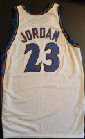 Michael Jordan Game-Used 2002-03 Wizards Jersey (Grey Flannel LOA) at PristineAuction.com