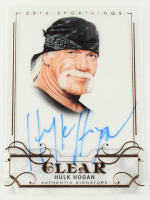 Hulk Hogan 2017 Leaf Metal Sports Heroes '16 Sportkings Clear Autograph Bronze #SKHH1 at PristineAuction.com