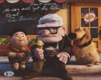 """Ed Asner Signed """"Up"""" 8x10 Photo Inscribed """"Don't Worry, the Dog Will Get His Later!! Best"""" (Beckett COA) at PristineAuction.com"""