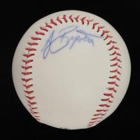 AJ Burnett Signed Kane County Cougars Logo Baseball (JSA COA) at PristineAuction.com