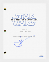 """J.J. Abrams Signed """"Star Wars: The Rise of Skywalker"""" Movie Script (AutographCOA COA) at PristineAuction.com"""