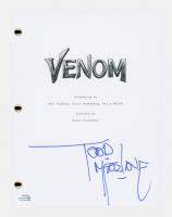 """Todd McFarlane Signed """"Venom"""" Movie Script (AutographCOA COA) at PristineAuction.com"""