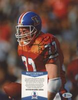 Karl Mecklenburg Signed Broncos 8x10 Photo (Beckett COA) at PristineAuction.com