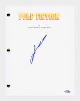 "John Travolta Signed ""Pulp Fiction"" Movie Script (AutographCOA COA) at PristineAuction.com"