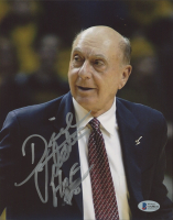 """Dick Vitale Signed 8x10 Photo Inscribed """"HOF 08"""" (Beckett COA) at PristineAuction.com"""