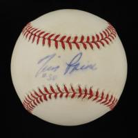 Tim Raines Signed ONL Baseball (JSA COA) at PristineAuction.com