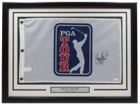 Payne Stewart Signed 20x30 Custom Framed Pin Flag Display (JSA Hologram) at PristineAuction.com