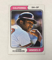 Frank Robinson 1974 Topps #55 at PristineAuction.com