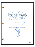 """J.J. Abrams Signed """"Star Wars: The Rise of Skywalker"""" Movie Script (Beckett COA) at PristineAuction.com"""