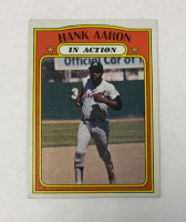 Hank Aaron 1972 Topps #300 IA at PristineAuction.com
