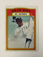Willie Mays 1972 Topps #50 IA at PristineAuction.com