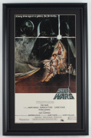 """""""Star Wars Episode IV: A New Hope"""" 15x24 Custom Framed Movie Poster at PristineAuction.com"""