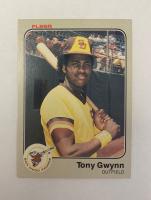 Tony Gywnn 1983 Fleer #360 RC at PristineAuction.com