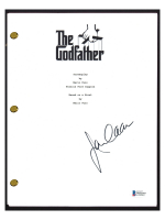 """James Caan Signed """"The Godfather"""" Movie Script (Beckett COA) at PristineAuction.com"""