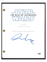 """Oscar Isaac Signed """"Star Wars: The Rise of Skywalker"""" Movie Script (PSA COA) at PristineAuction.com"""