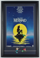 """Disney World """"The Little Mermaid"""" 15x22 Custom Framed Print Display with Ariel Pin Set at PristineAuction.com"""