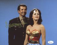 "Lyle Waggoner Signed ""Wonder Woman"" 8x10 Photo (JSA Hologram) at PristineAuction.com"