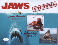 """Susan Backlinie & Jeffrey Voorhees Signed """"Jaws"""" 8x10 Photo (JSA COA) at PristineAuction.com"""