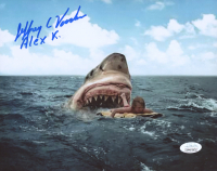 """Jeffrey Voorhees Signed """"Jaws"""" 8x10 Photo Inscribed """"Alex K."""" (JSA COA) at PristineAuction.com"""