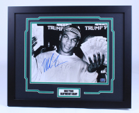 Mike Tyson Signed 18x22 Custom Framed Photo Display (Fiterman Hologram) at PristineAuction.com