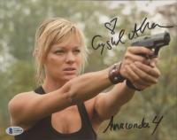 "Crystal Allen Signed ""Anacondas: Trail of Blood"" 8x10 Photo Inscribed ""Anaconda 4"" (Beckett COA) at PristineAuction.com"