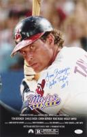 "Tom Berenger Signed ""Major League"" 11x17 Photo Inscribed ""Jake Taylor #7"" (JSA COA) at PristineAuction.com"