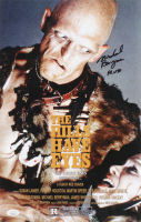 """Michael Berryman Signed """"The Hills Have Eyes"""" 11x17 Photo Inscribed """"Pluto"""" (JSA COA) at PristineAuction.com"""