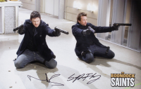 "Norman Reedus & Sean Patrick Flanery Signed ""The Boondock Saints"" 11x17 Photo (JSA COA) at PristineAuction.com"